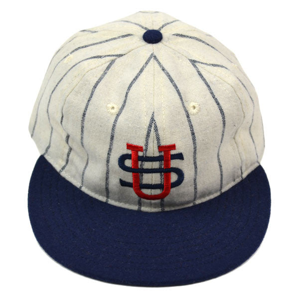 Ebbets Field Flannels – US Tour Of Japan 1931 (Fitted) – White / Navy