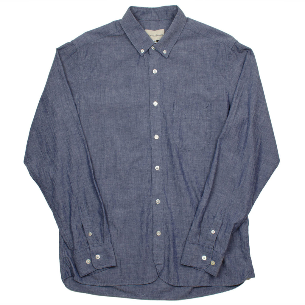 Ecole de Pensée - Home Shirt - Blue Chambray
