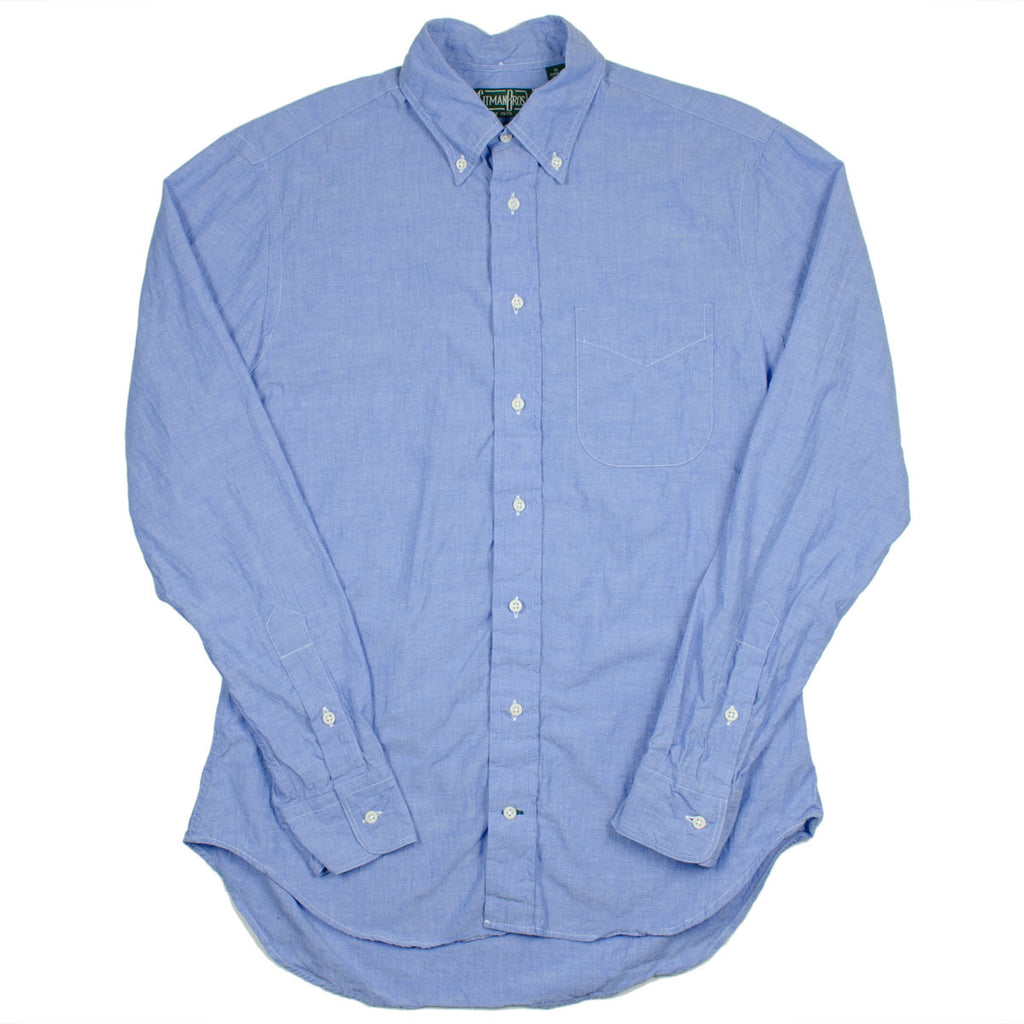 Gitman Vintage - Japanese Chambray Shirt - Light Blue