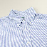 Gitman Vintage - Linen Shirt - Navy Stripes