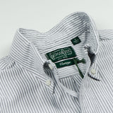 Gitman Vintage - Oxford Shirt - Grey Stripe