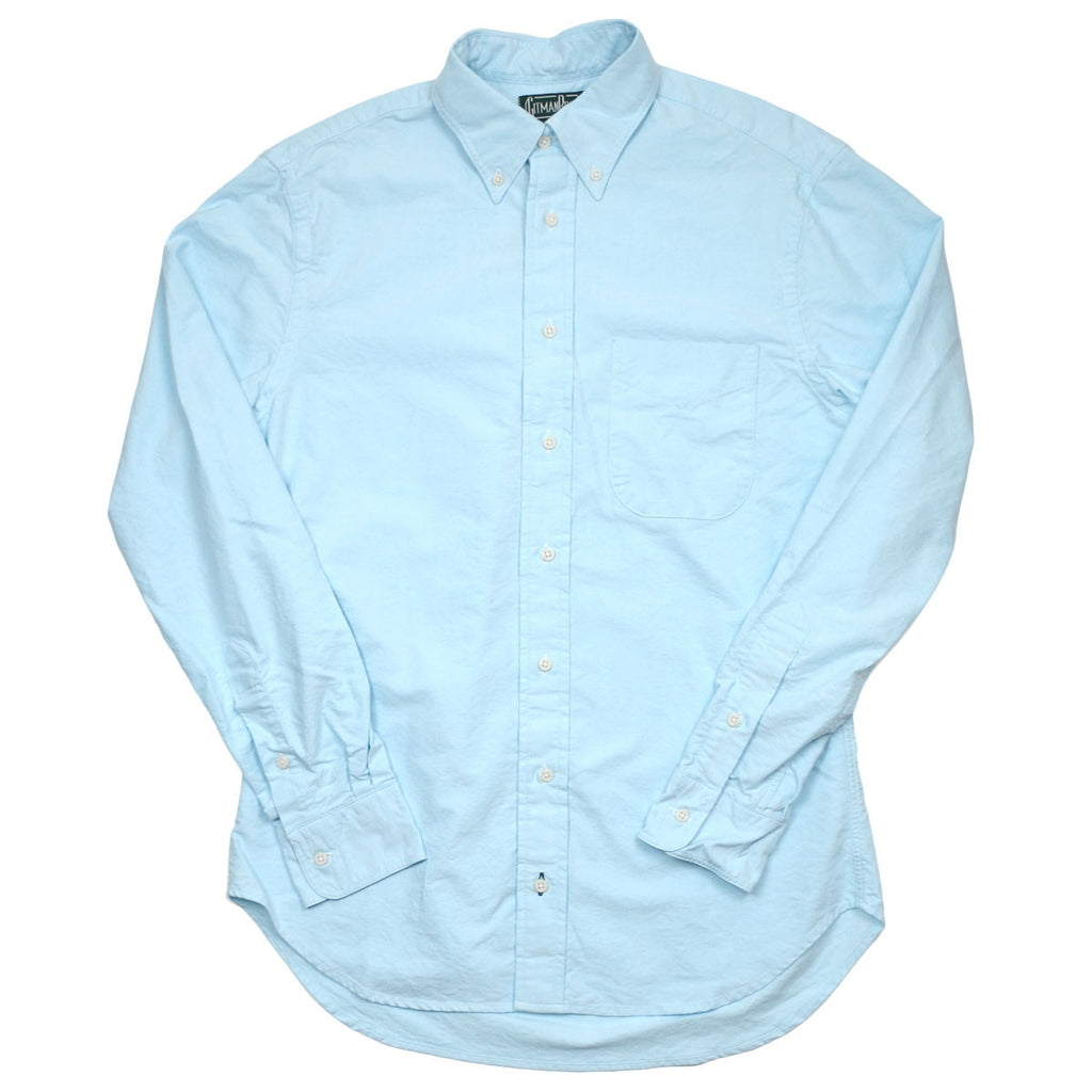 Gitman Vintage - Oxford Shirt - Teal
