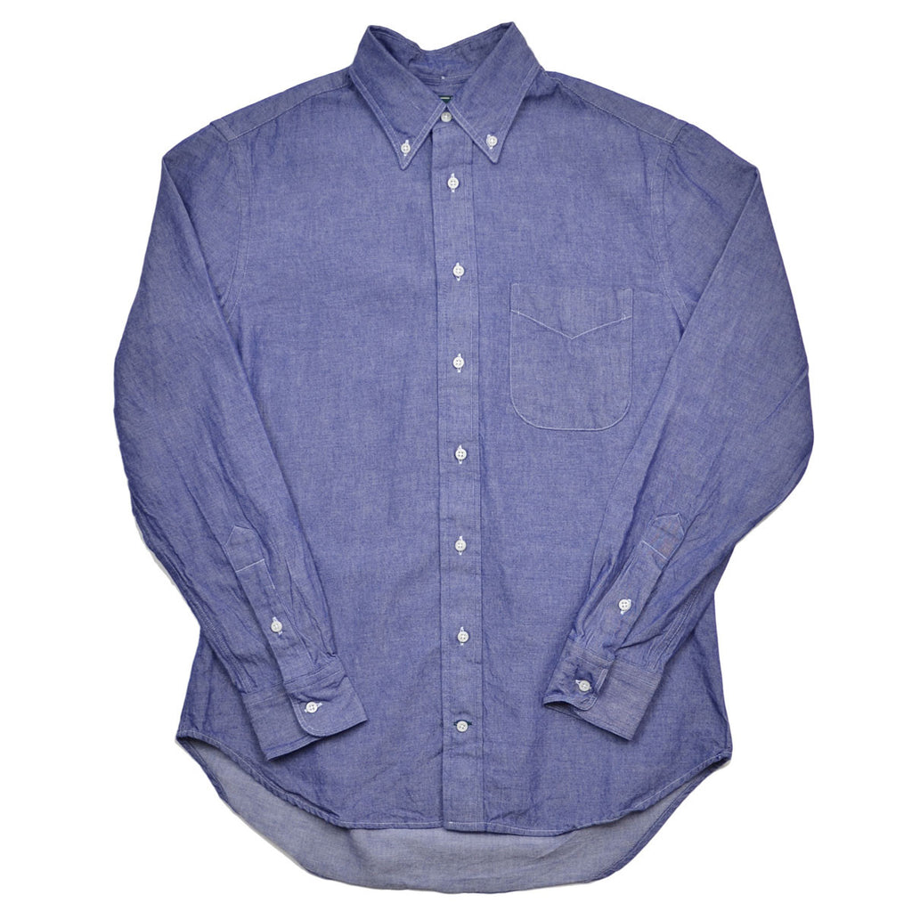 Gitman Vintage - Seed to Sew Denim Shirt - Blue