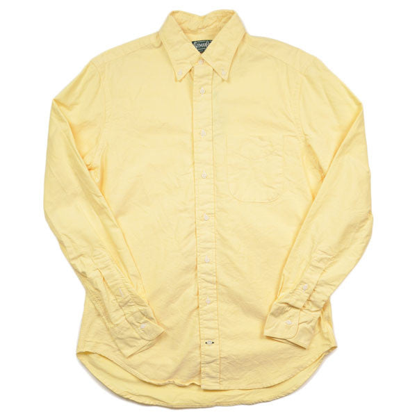 Gitman Vintage – Yellow Oxford Shirt (L/S)
