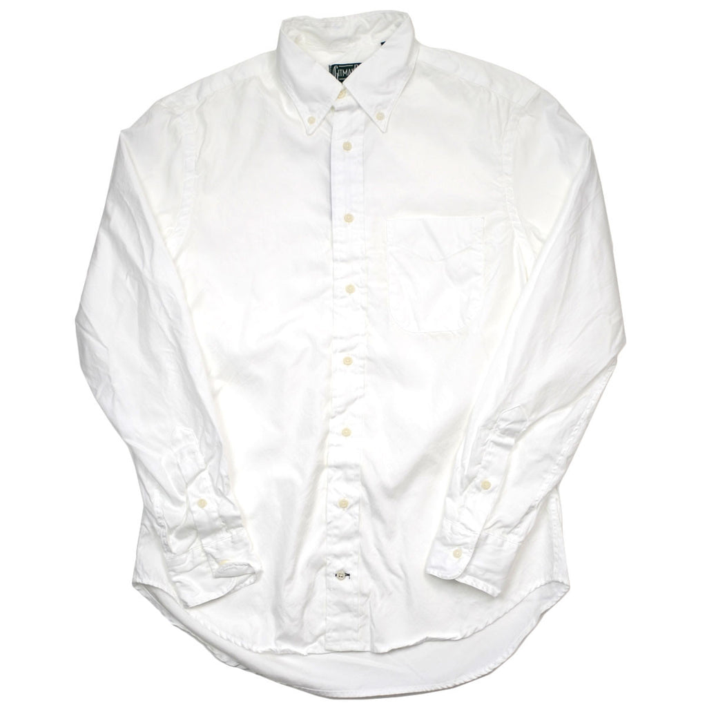 Gitman Vintage - Zephyr Summer Oxford Shirt - White
