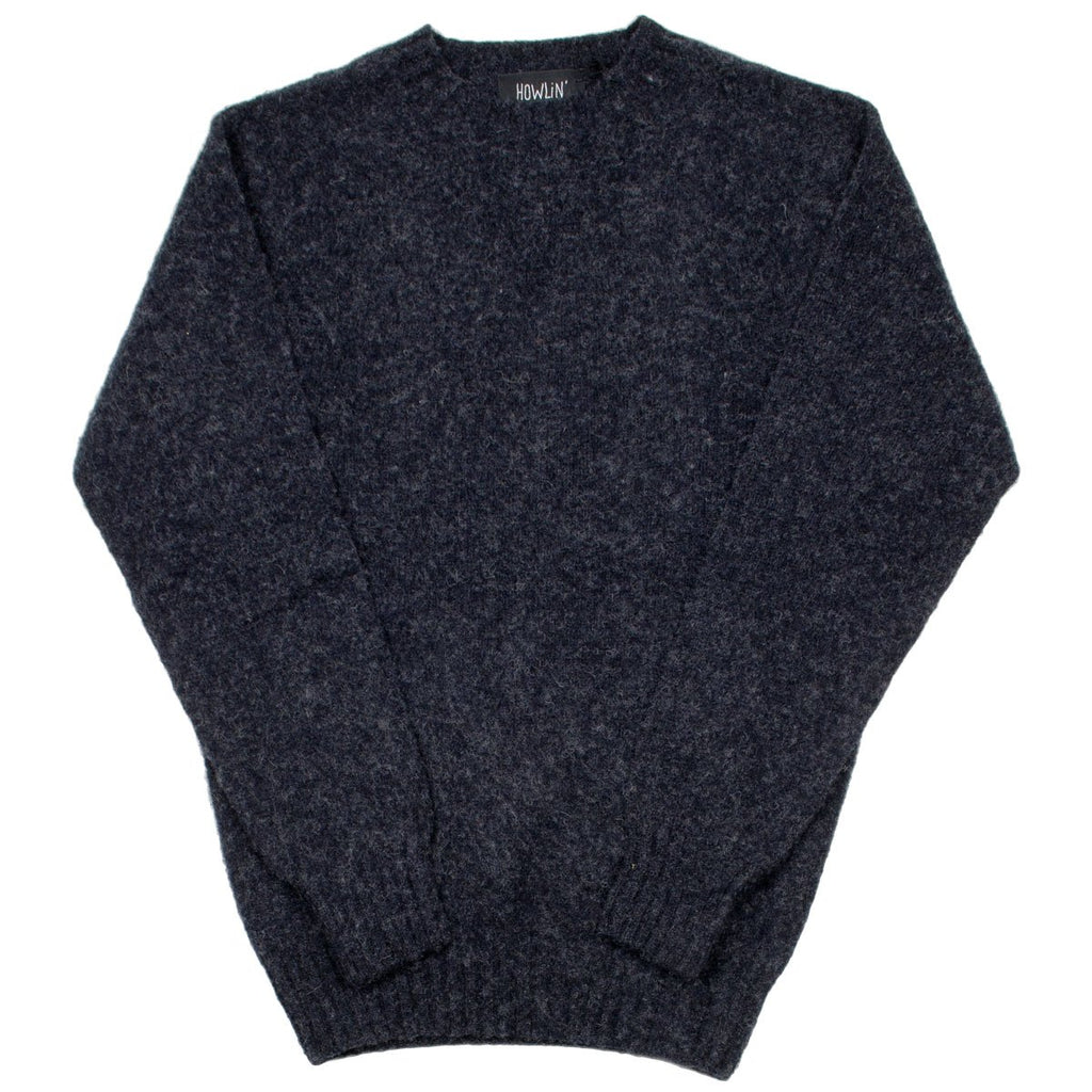 Howlin' - Birth of the Cool Wool Sweater - Charcoal