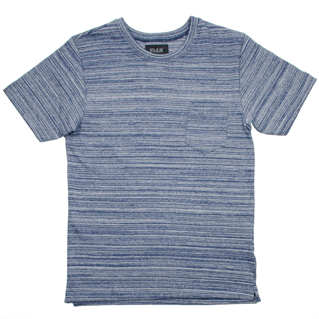 Howlin' - Blind Wizard Striped T-shirt - Navy Mix
