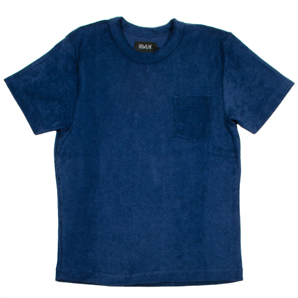 Howlin' - Fons Towel T-shirt - Navy