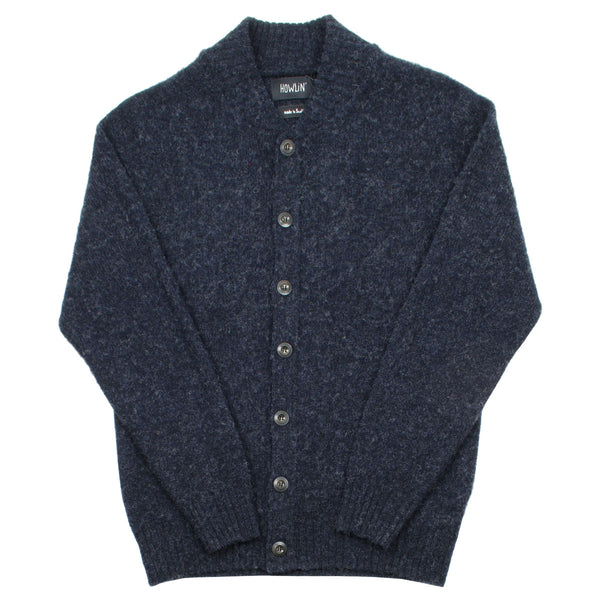 Howlin' - Four Eyes Wool Cardigan - Charcoal