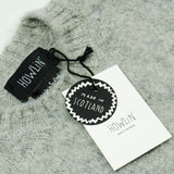 Howlin' - Shaggy Bear Sweater - Light Grey Mix