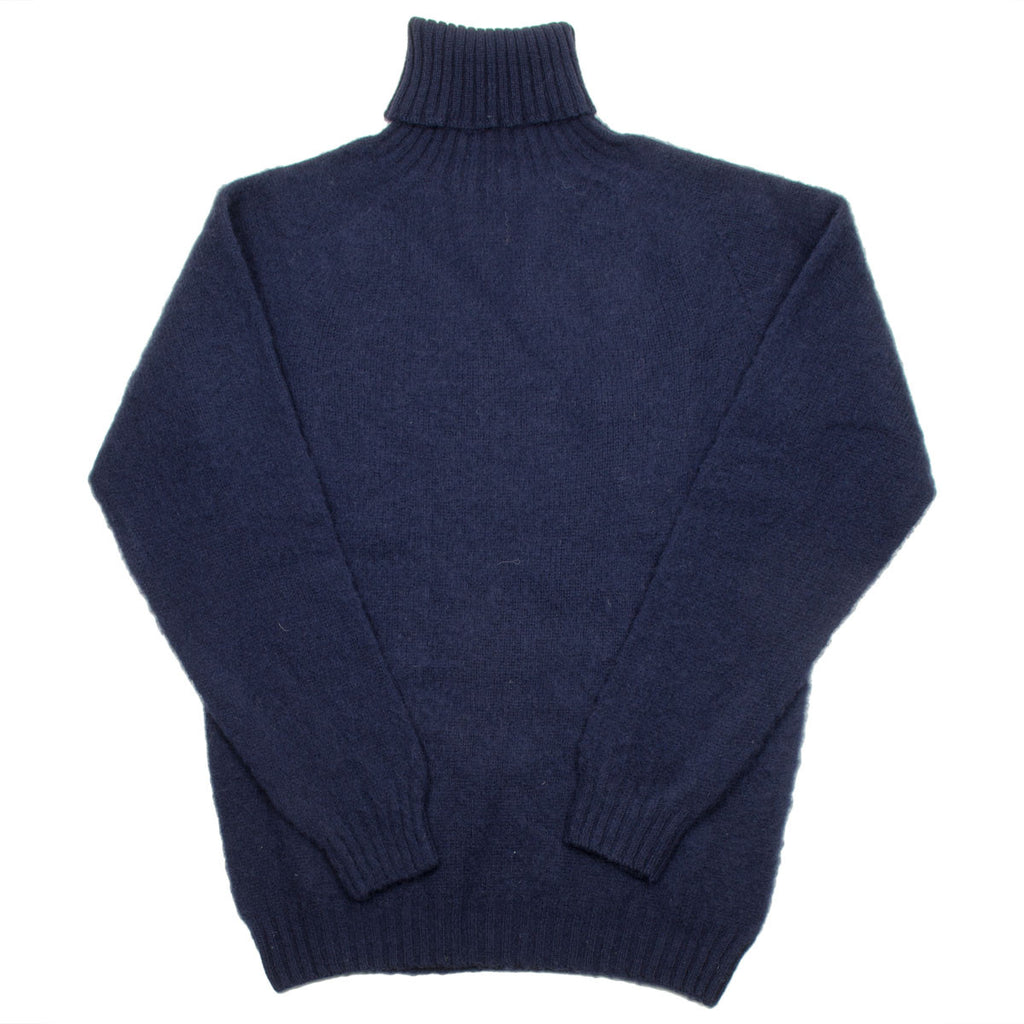 Howlin' - Sylvester Wool Turtleneck - Navy