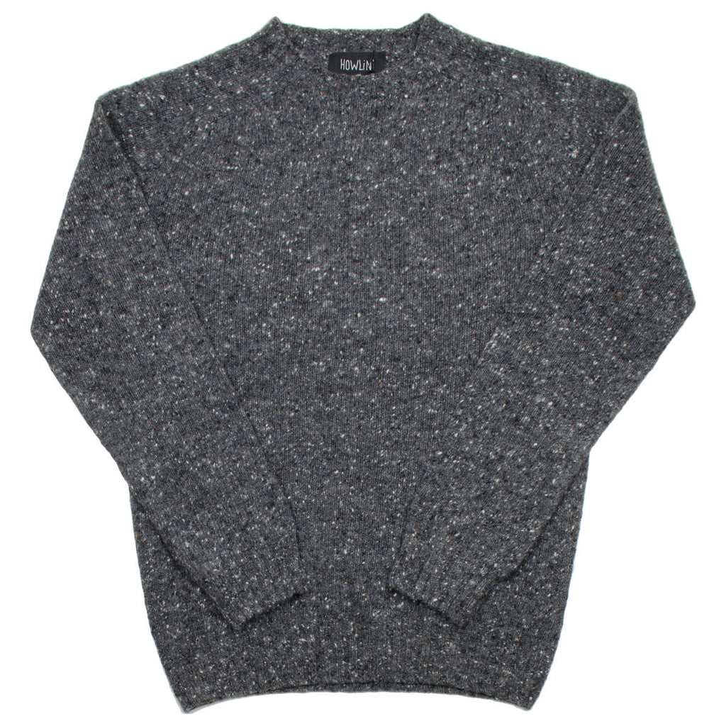 Howlin' - Terry Wool Sweater - Charcoal