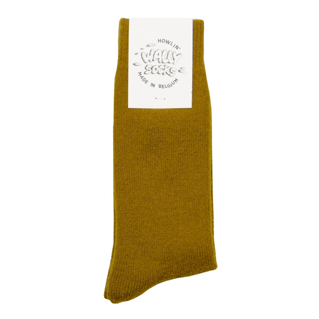 Howlin' - Wally Wool Socks - Mustard