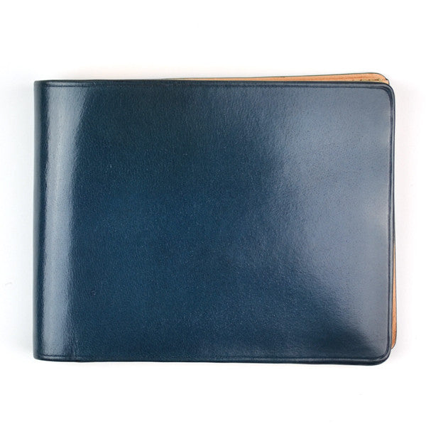 Il Bussetto - Bi-fold wallet - Blue