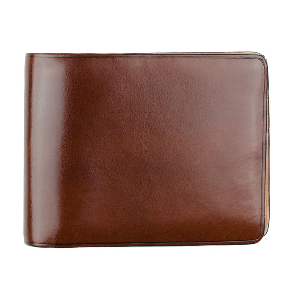 Il Bussetto - Bi-fold Wallet - Brown (Cappuccino)