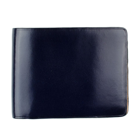Il Bussetto - Bi-fold Wallet - Navy Blue