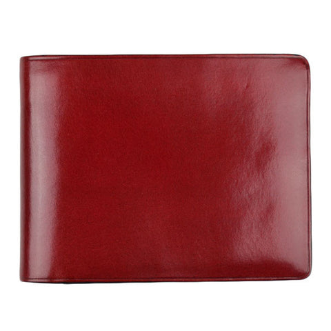 Il Bussetto - Bi-fold Wallet – Tibetan Red