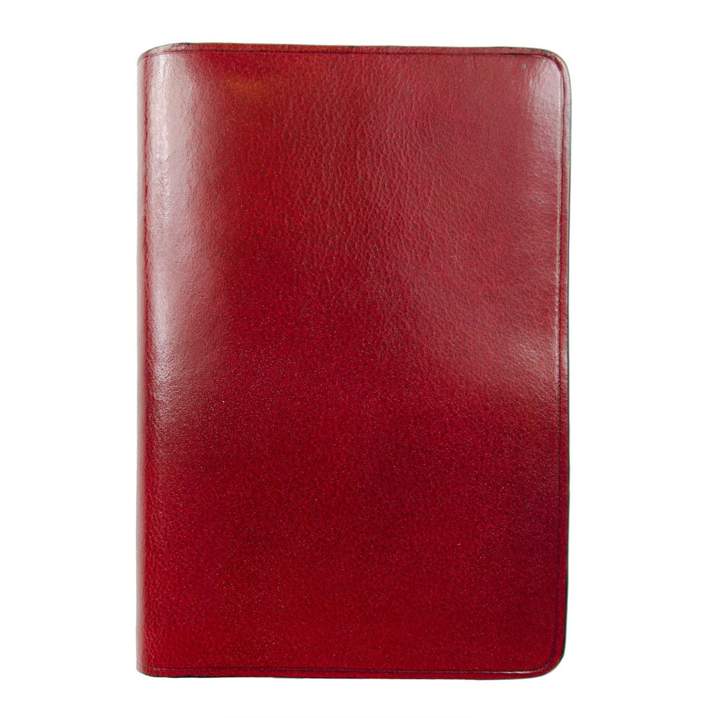 Il Bussetto - Bi-folder Card Case - Tibetan Red