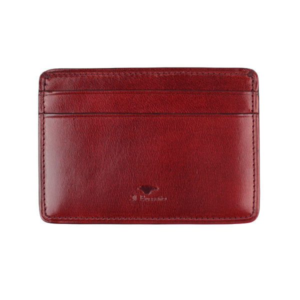 Il Bussetto - Card Case - Tibetan Red