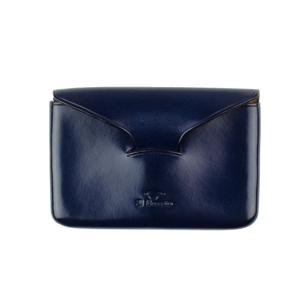 Il Bussetto - Card Holder (Envelope) - Navy Blue