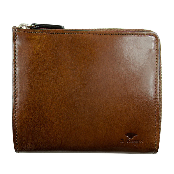 Il Bussetto - Isola Zipped Wallet - Brown (Cappuccino)