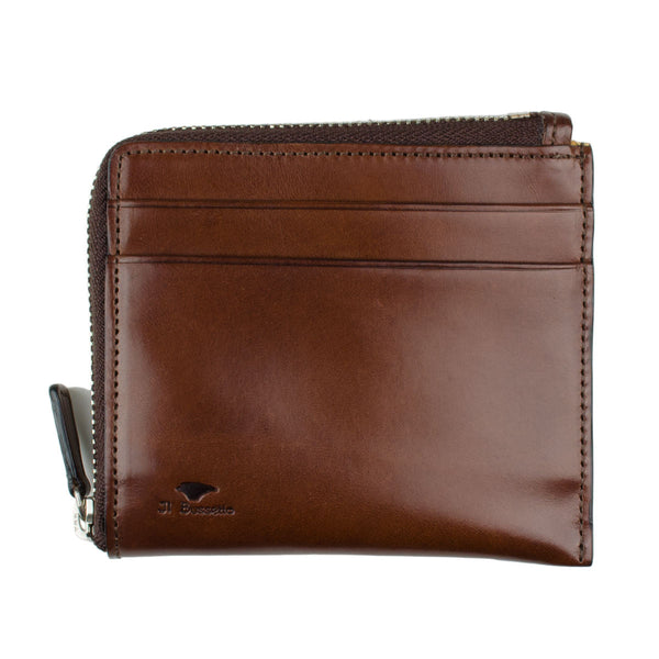 Il Bussetto - Zip wallet - Brown