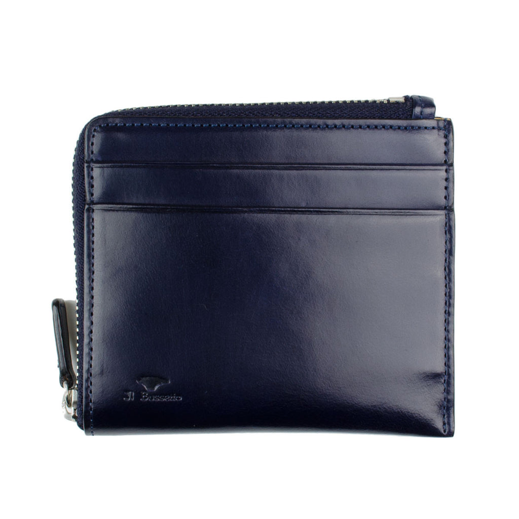 Il Bussetto - Zip wallet - Navy Blue