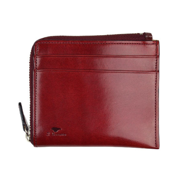 Il Bussetto - Zip wallet - Tibetan Red