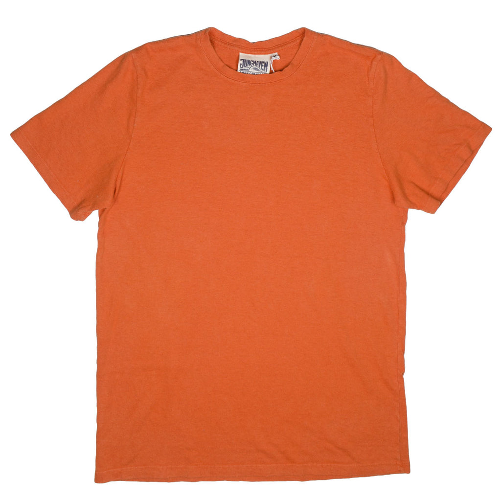 Jungmaven - Baja Hemp T-shirt 55/45 (7 oz) - Autumn Orange