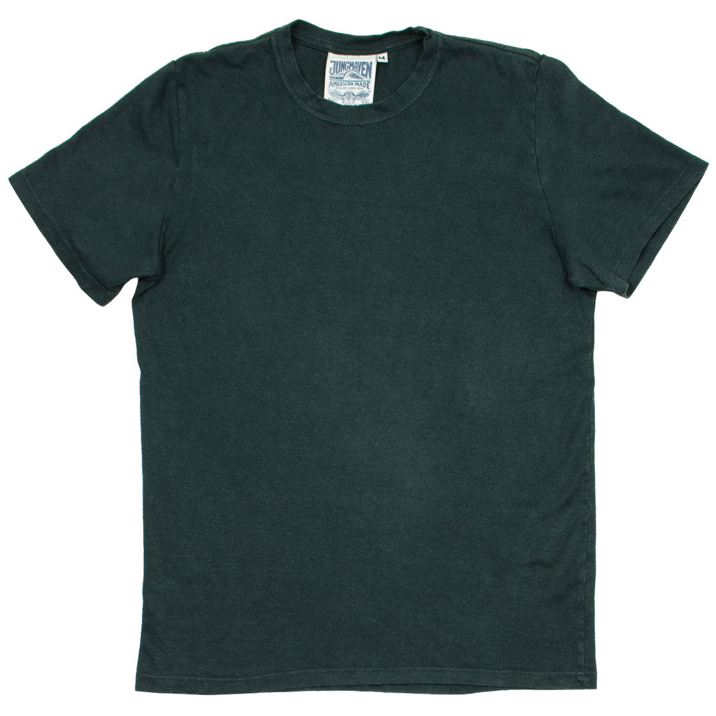Jungmaven - Baja Hemp T-shirt 55/45 (7 oz) - Forest Green