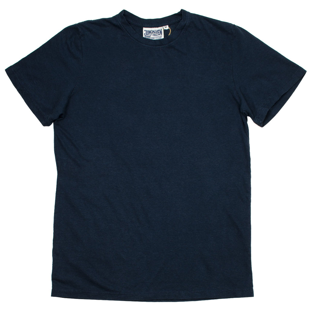 Jungmaven - Baja Hemp T-shirt 55/45 (7 oz) - Navy
