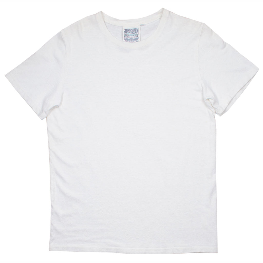 Jungmaven – Baja Hemp T-shirt 55/45 (7 oz) - Optic White