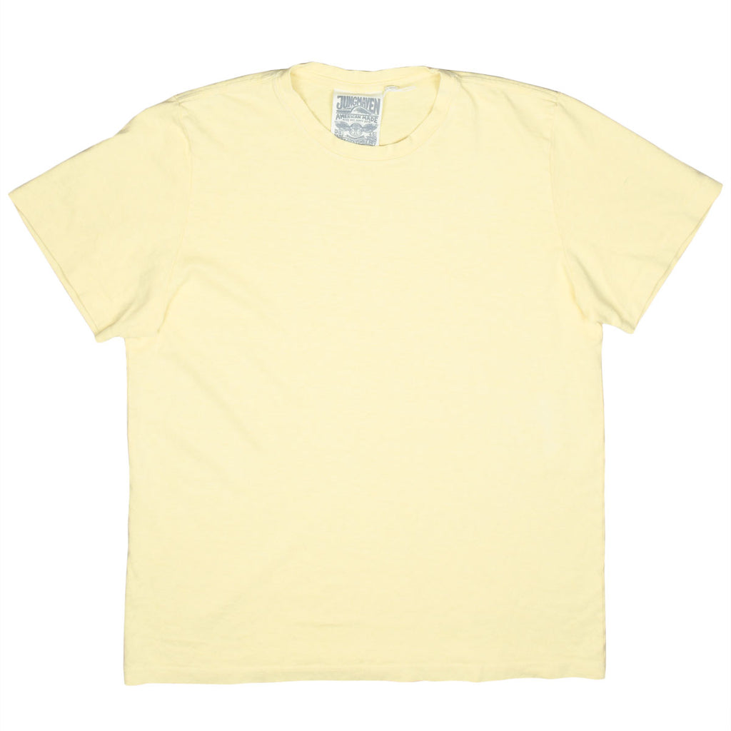 Jungmaven - Baja Hemp T-shirt 55/45 (7 oz) - Pale Yellow