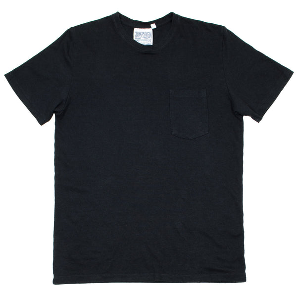 Jungmaven - Baja Pocket Hemp T-shirt 55/45 (7 oz) - Black