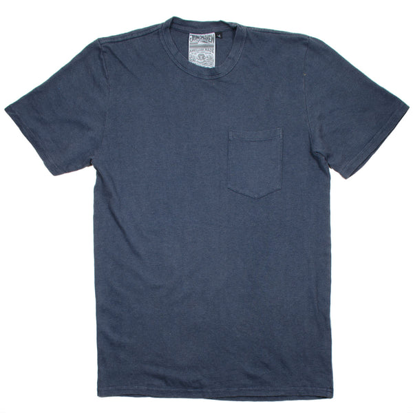 Jungmaven - Baja Pocket Hemp T-shirt 55/45 (7 oz) - Diesel Grey