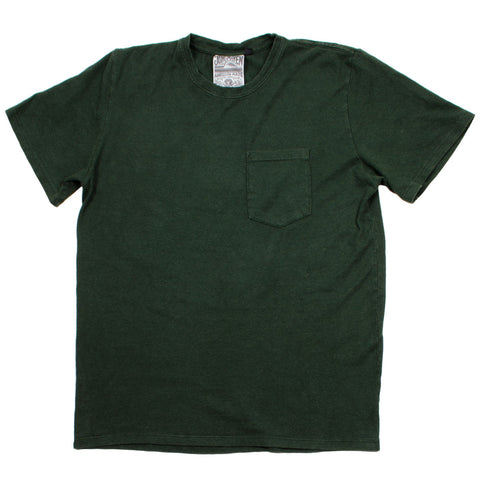 Jungmaven - Baja Pocket Hemp T-shirt 55/45 (7 oz) - Forest Green