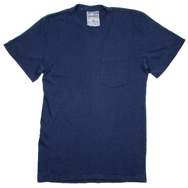 Jungmaven - Baja Pocket Hemp T-shirt 55/45 (7 oz) - Navy