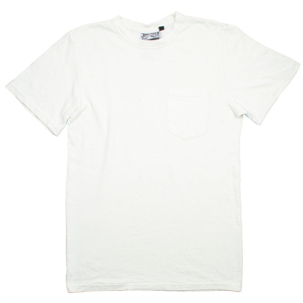 Jungmaven - Baja Pocket Hemp T-shirt 55/45 (7 oz) - Optic White