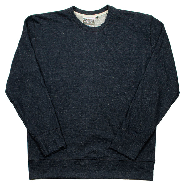 Jungmaven - Crewneck Sweatshirt - Black Speckle