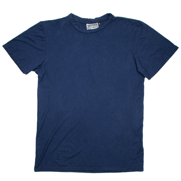 Jungmaven - Men's Original Hemp T-shirt 30/70 (5 oz) - Navy