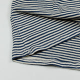 Jungmaven - Men's Yarn-Dyed Pocket Hemp T-shirt 55/45 (6 oz) - New Blue Stripe (Navy / White)