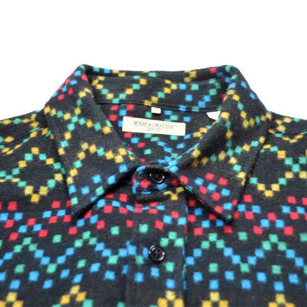 Levi 39 S Made Crafted Classic Shirt Flannel Black
