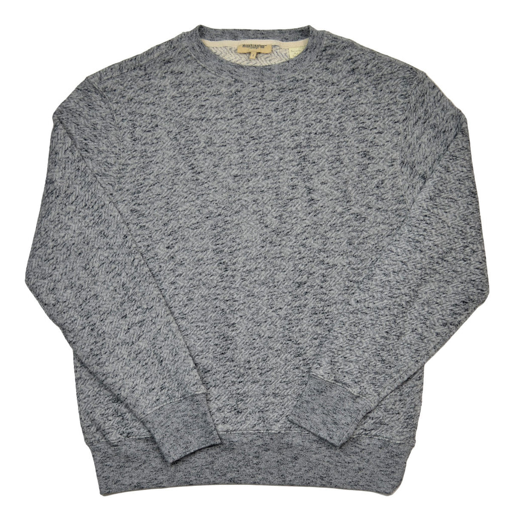 Levi's Made & Crafted - Crew Sweatshirt - Grey Mele
