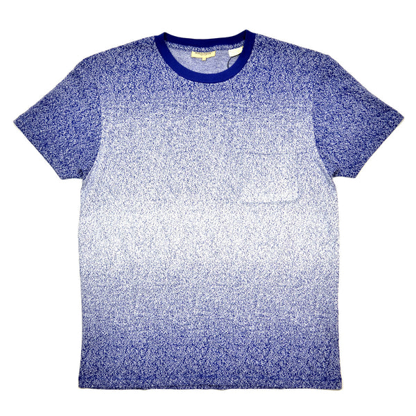 Levi 39 s made crafted indigo spray t shirt navy beaubien for Levis made and crafted shirt