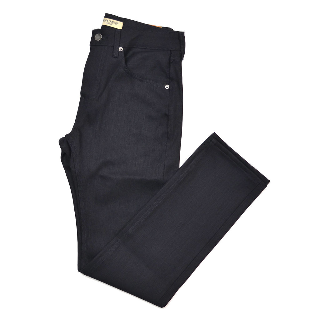 Levi's Made & Crafted - Tack Slim Jeans - Black Selvedge