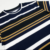 Libertine-Libertine - Action T-shirt Cresp - Multi Stripe Night