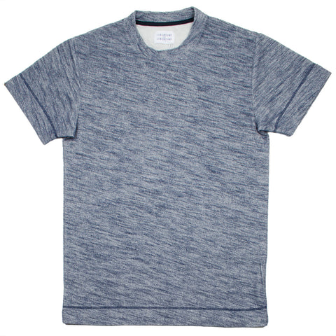 Libertine-Libertine - Action T-shirt Hold - Blue Melange