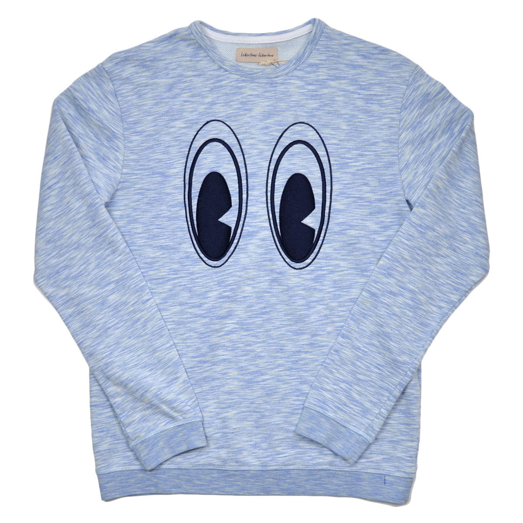 Libertine-Libertine - East Eyes Sweatshirt Mart - Blue Melange