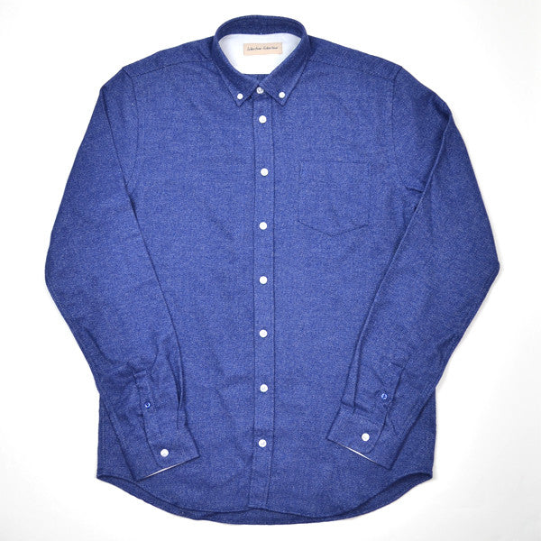 Libertine-Libertine - Hunter Shirt Mountain - Navy