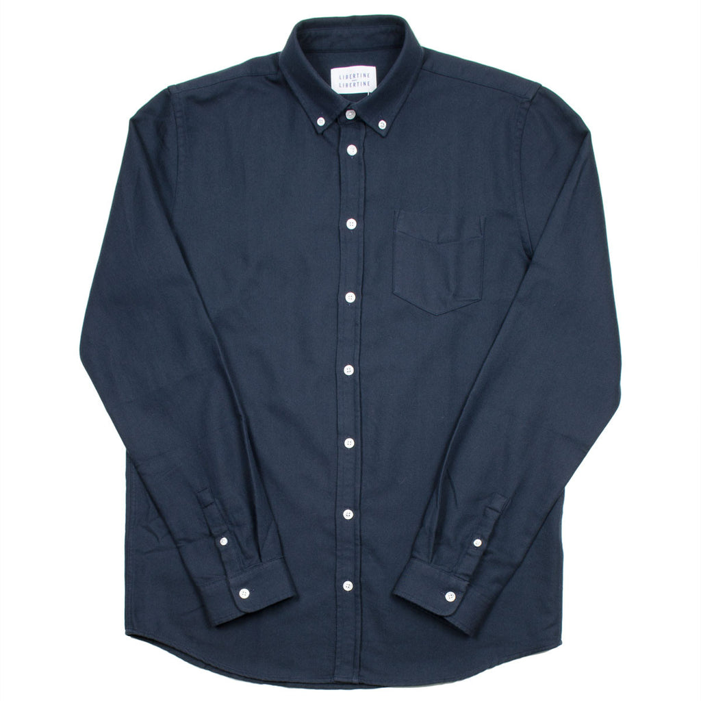 Libertine-Libertine - Hunter Shirt Award - Peacoat / Asphalt